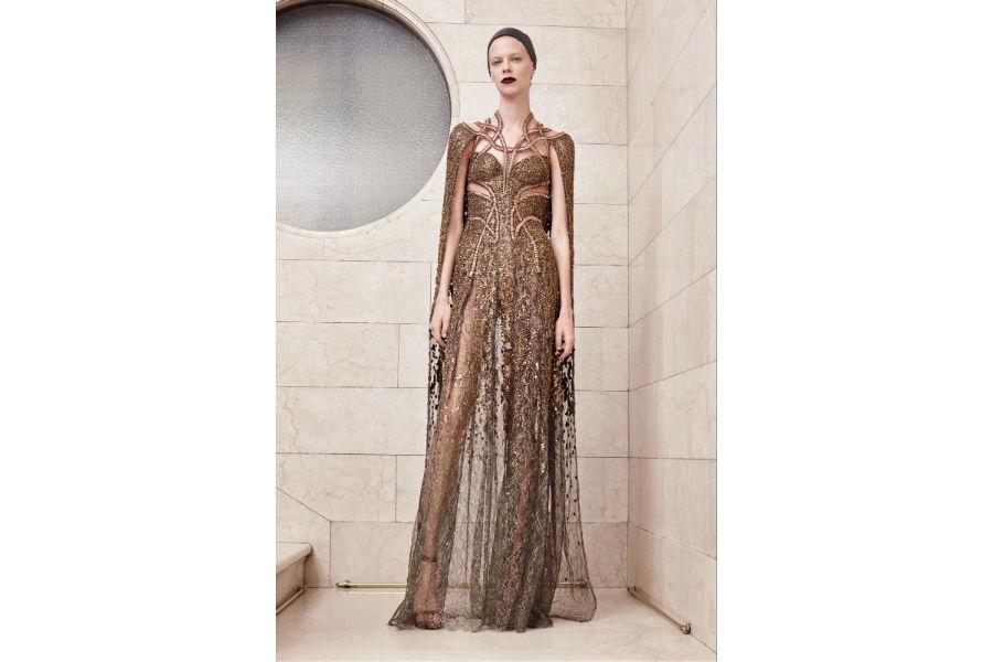 Natale - moda: proposta in cristalli di Atelier Versace Haute Couture_ F/W 2017-2018