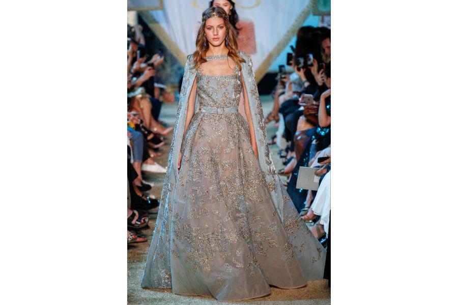 Natale - moda: proposta in cristalli di Atelier Versace Haute Couture F/W 2017-2018