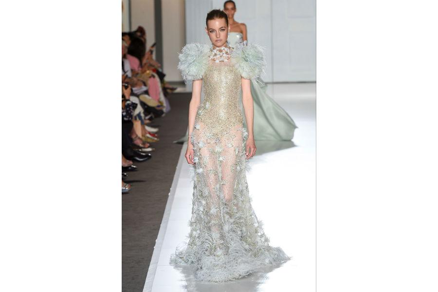 Natale - moda: proposta in cristalli di Ralph&Russ Haute Couture _F/W 2017-2018