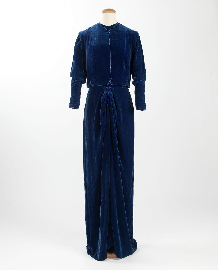 Outfit '900 - Palazzo Morando - Milano: Completo da sposa1937, etichetta: E. Villa (Milano?) Dono Brunella Volpi, 2017