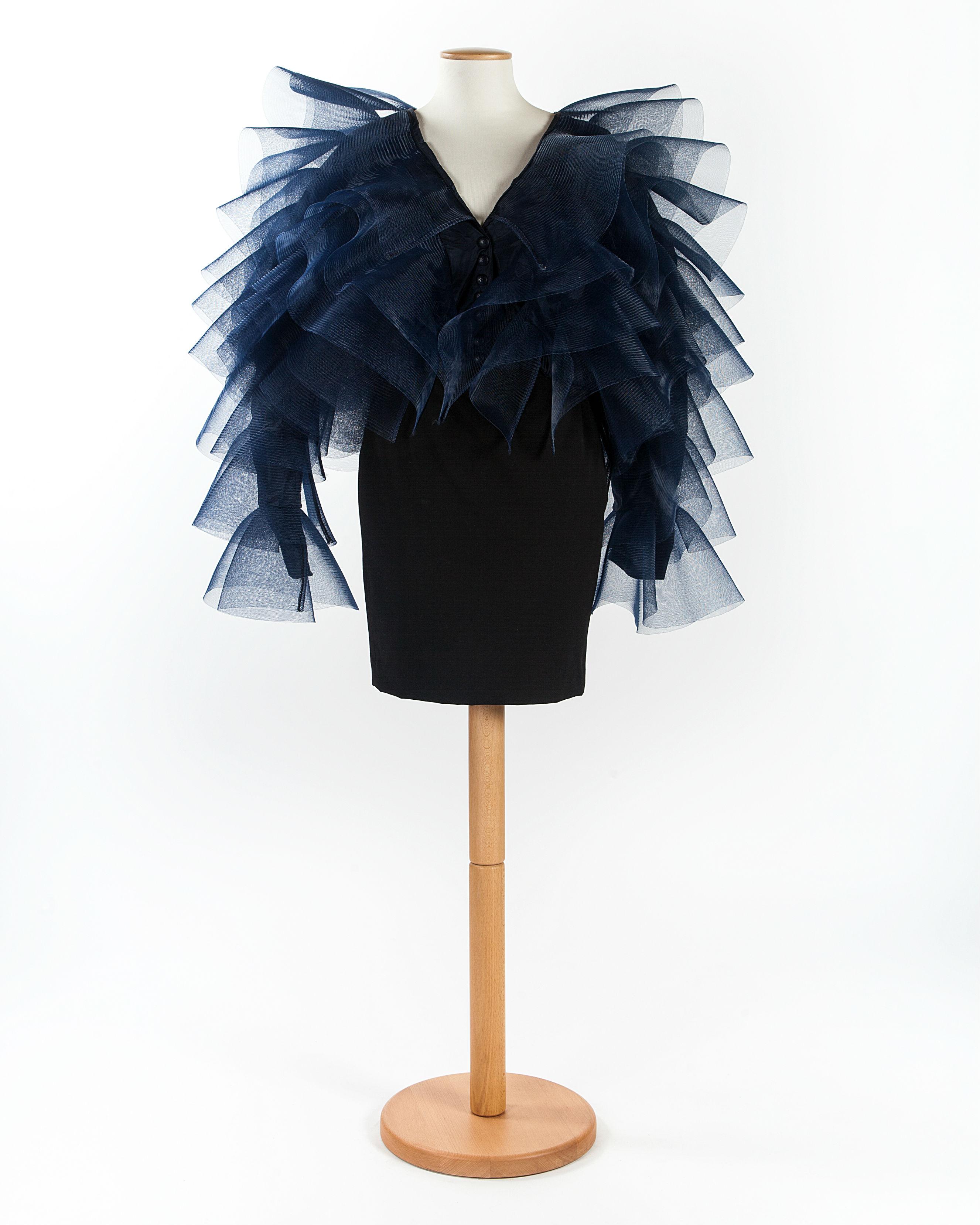 Outfit '900 - Palazzo Morando - Milano:Blouson Inv. C 3821 1988, etichetta: KriziaLegato Claudia Gianferrari, 2011