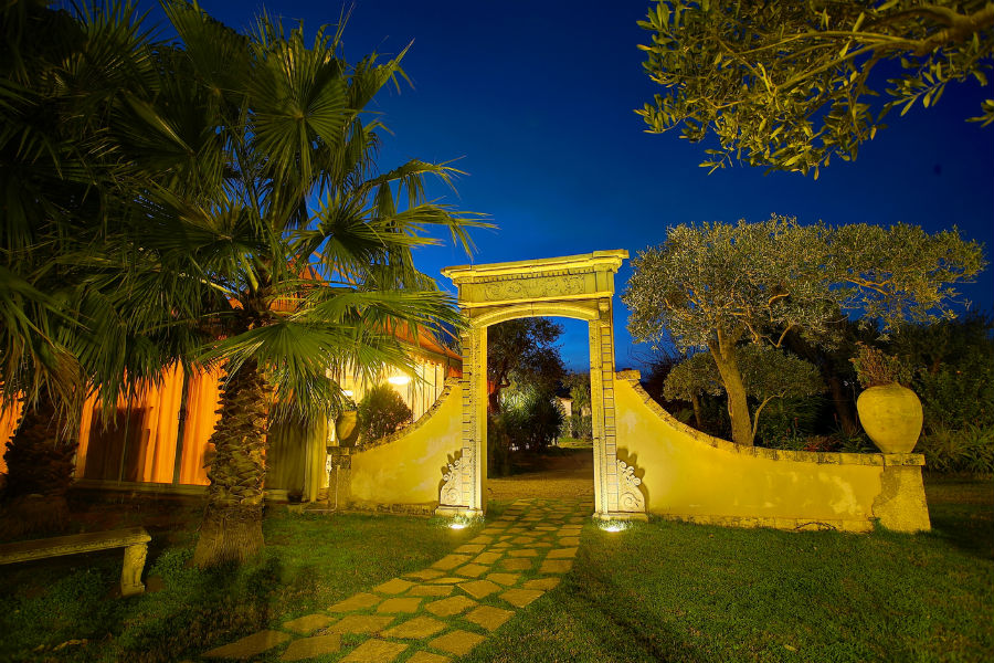 Castello San Marco Charming Hotel & SPA - Calatabiano, Sicilia: ingresso