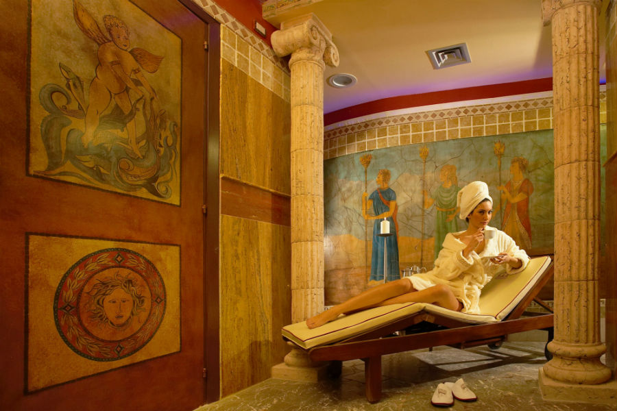 Castello San Marco Charming Hotel & SPA - Calatabiano, Sicilia: area relax all'interno della Spa