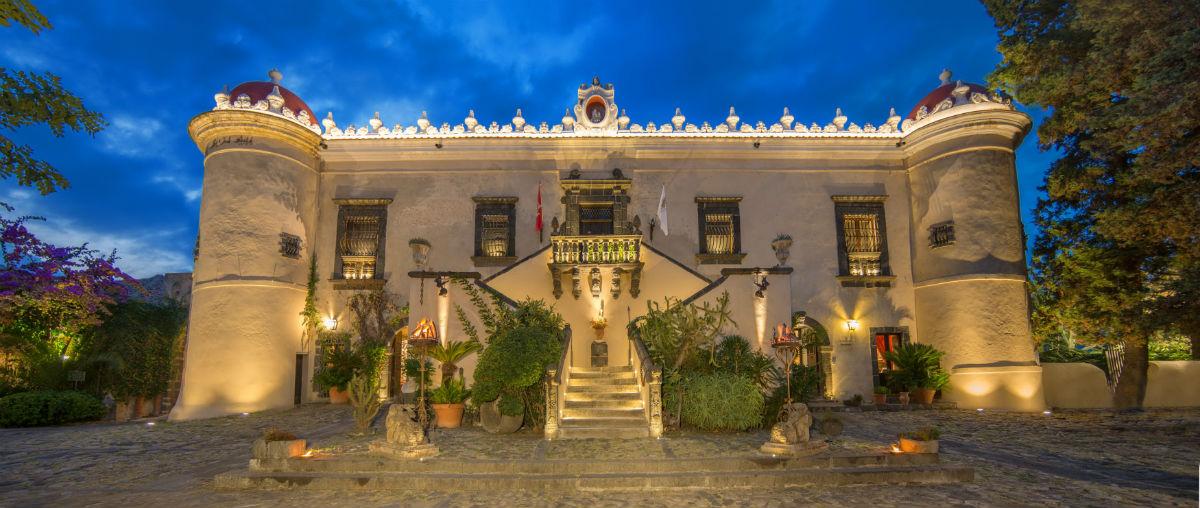 Castello San Marco Charming Hotel & SPA - Calatabiano, Sicilia: facciata principale