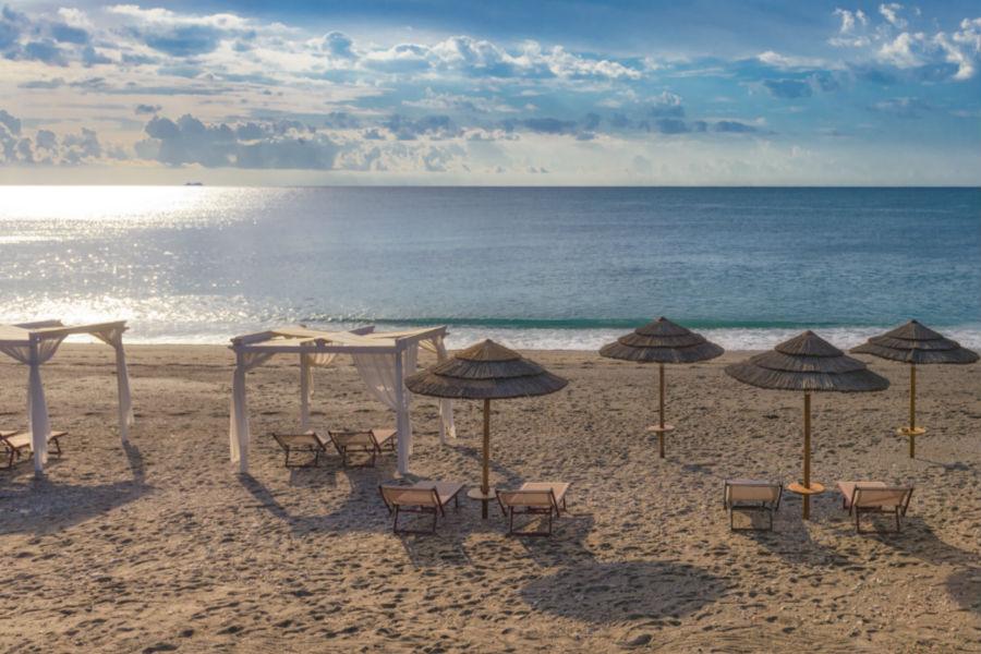 Castello San Marco Charming Hotel & SPA - Calatabiano, Sicilia: spiaggia privata
