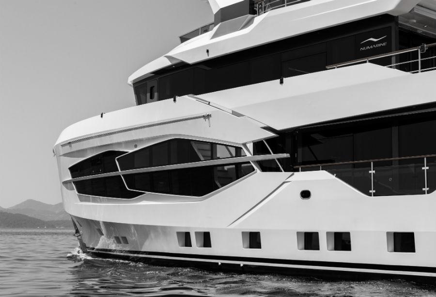 "Numarine 32XP ""Marla"" - Superyacht: linee esterne"