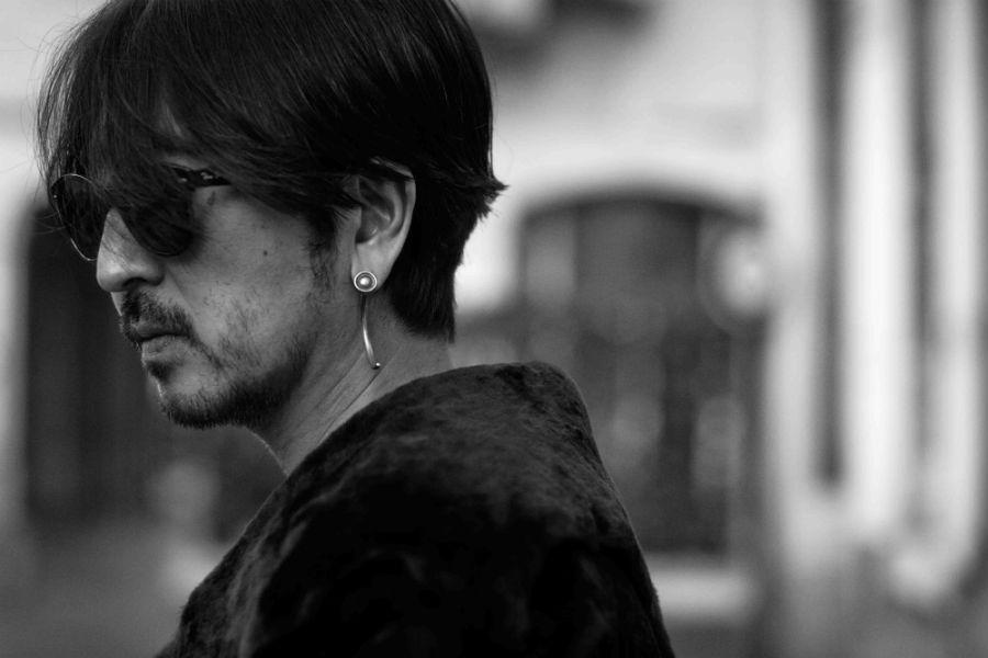 Takahiro Miyashita TheSoloist - ritratto in bianco e nero