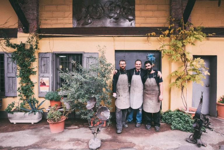 La Fucina di Efesto a Milano ed i suoi tre giovani artisti - Credit: © Eugenio Marongiu