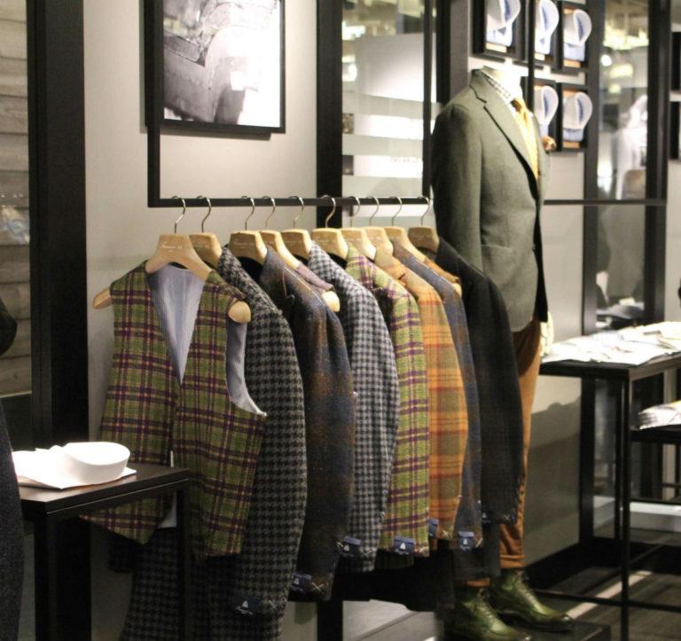 Alcune giacche presentate a Pitti 93