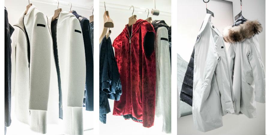 RRD – Roberto Ricci Design: collezione di giacche a vento nei toni del bianco, rosso e blu