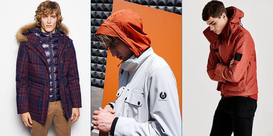 Sportswear - 3 modelli di giaccone dei seguenti brand: Colmar - Belstaff - Peakperformance