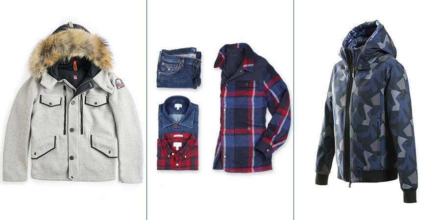 Sportswear - 3 modelli di giaccone dei seguenti brand: Parajumpers - Gant - People Of Shibuya