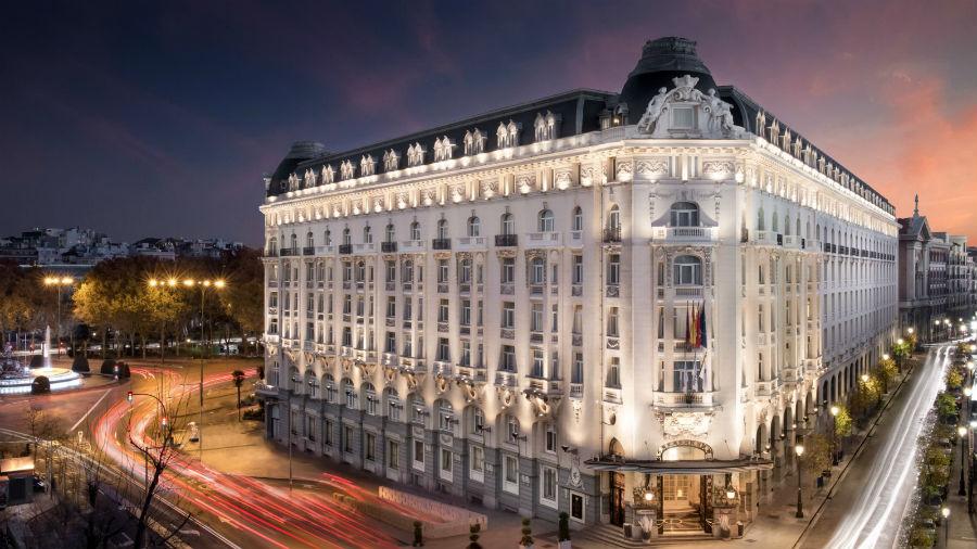 The Westin Palace Hotel, Madrid: Scorcio con ingresso alla struttura