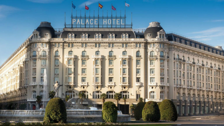 The Westin Palace Hotel, Madrid: facciata principale