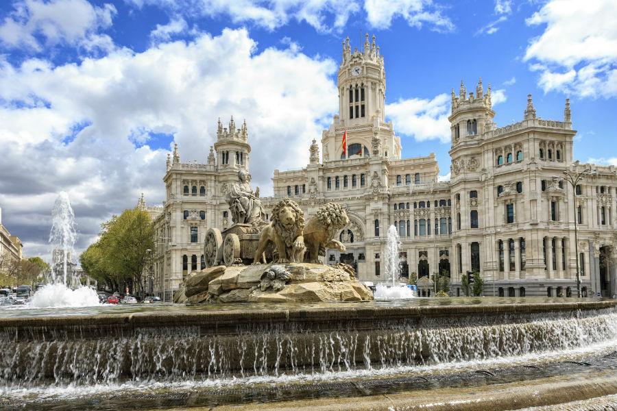 The Westin Palace Hotel, Madrid: Fontana di Cibele