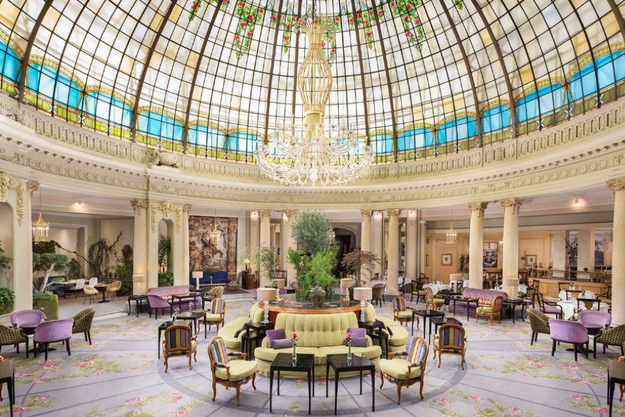 The Westin Palace Hotel, Madrid: giardino d'inverno