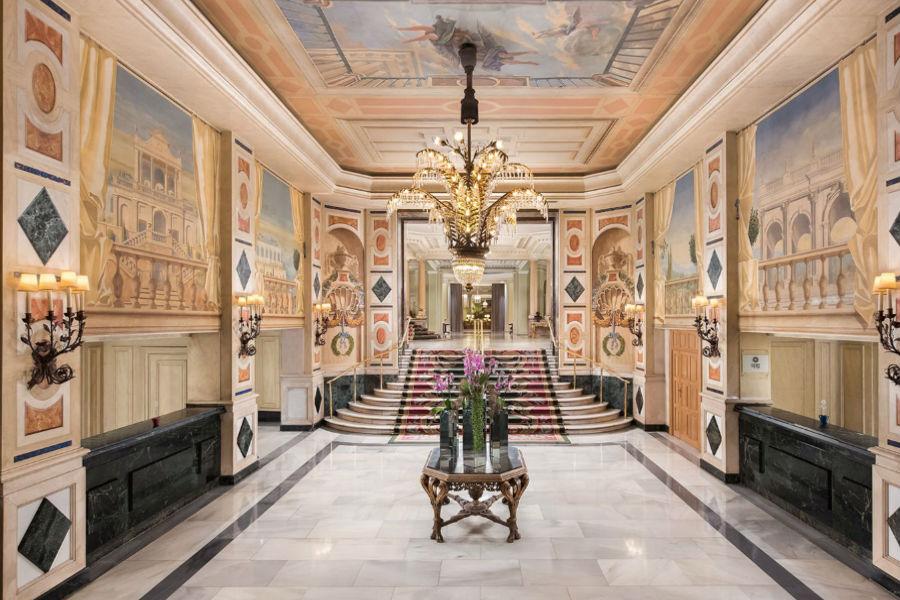 The Westin Palace Hotel, Madrid: lobby