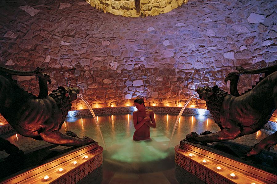 Adler Thermae Spa & Relax Resort : Particolari delle grotte termali