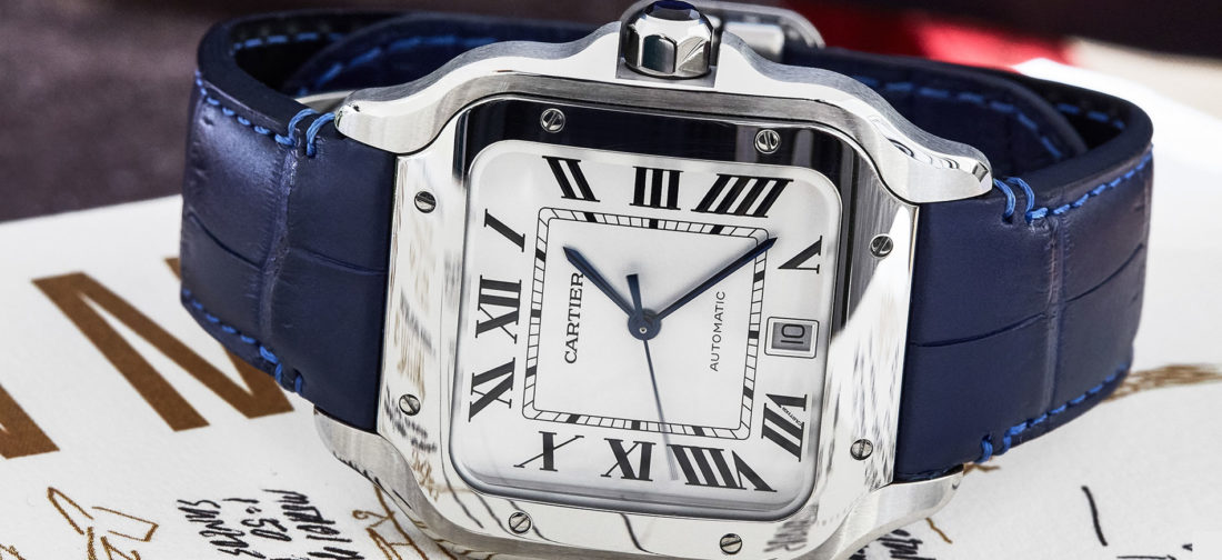 Cartier Santos de Cartier. Copyright: The Ducker Magazine - Photo Credit: Federica Santeusanio