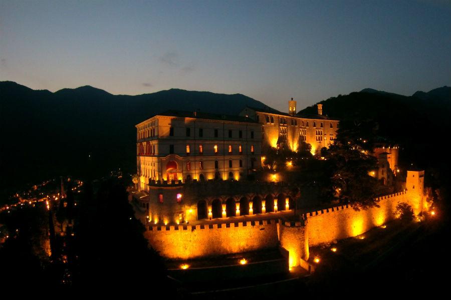 CastelBrando - luxury hotel in dimora storica nel Veneto: panorama notturno