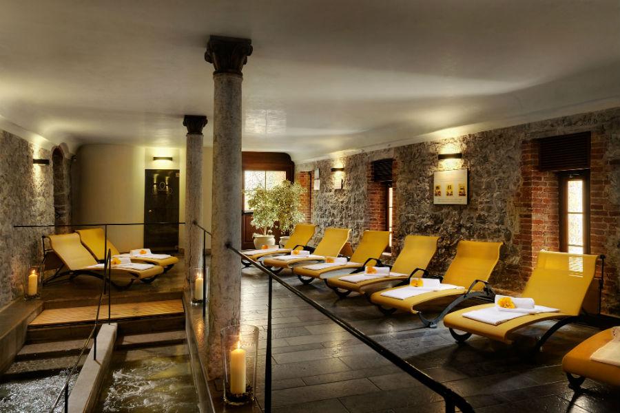 CastelBrando - luxury hotel in dimora storica nel Veneto: zona relax spa