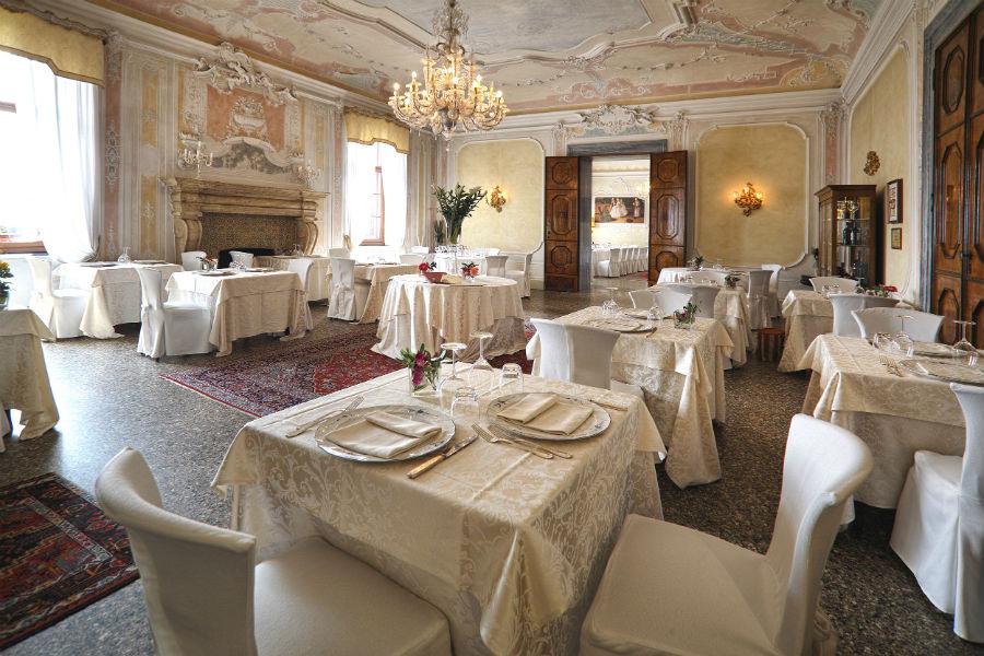 CastelBrando - luxury hotel in dimora storica nel Veneto: interno ristorante