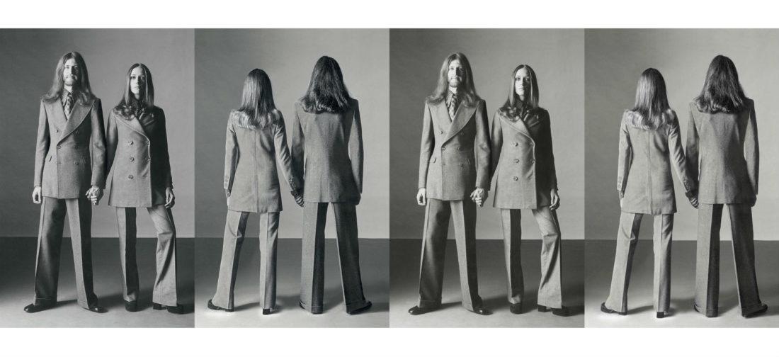 Italiana. l'Italia vista dalla moda 1971 – 2001: Foto Oliviero Toscani per il servizio Unilook, l'Uomo Vogue_Credits Condé Nast