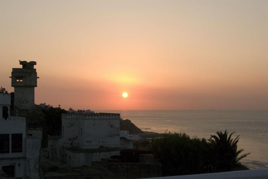L'Hotel Nord-Pinus Tanger: tramonto