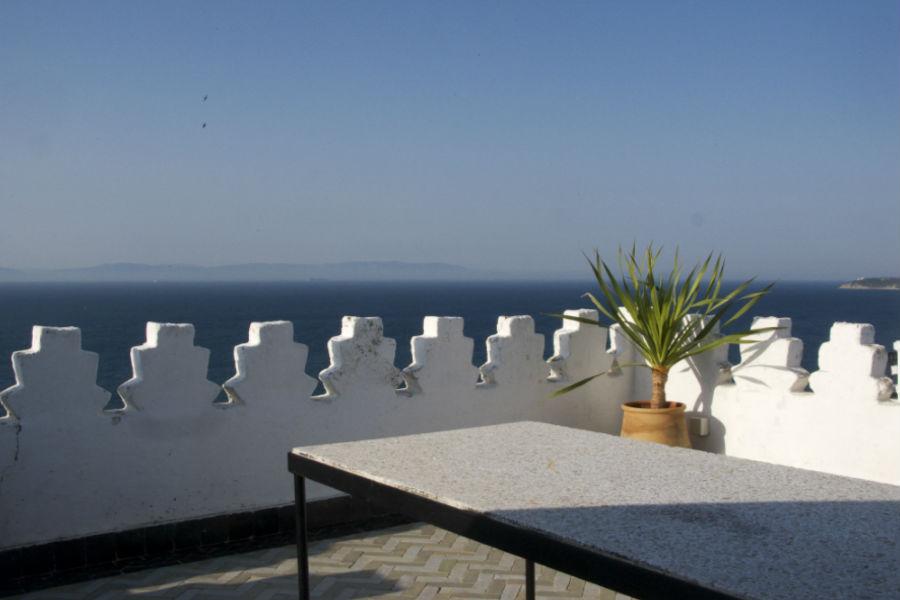 L'Hotel Nord-Pinus Tanger: terrazza