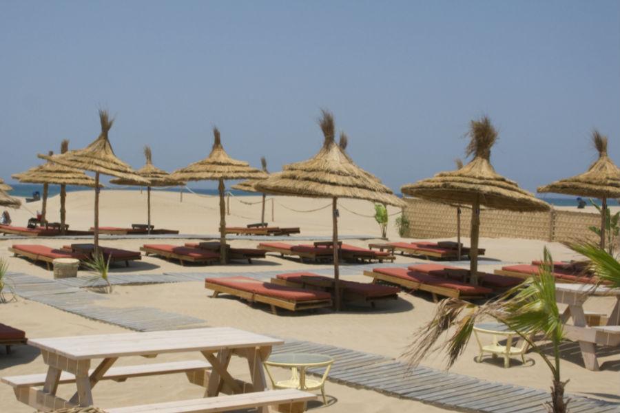 L'Hotel Nord-Pinus Tanger: spiaggia privata