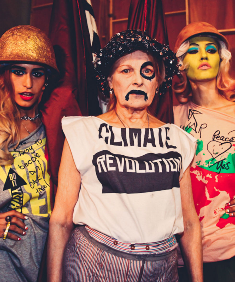 Vivienne Westwood in T-shirt