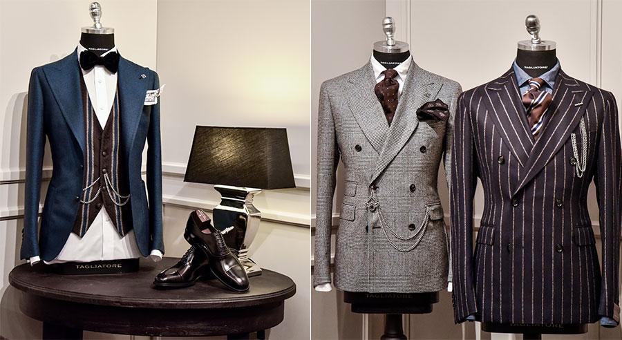 Tagliatore - Pino Lerario: 3 modelli di giacche