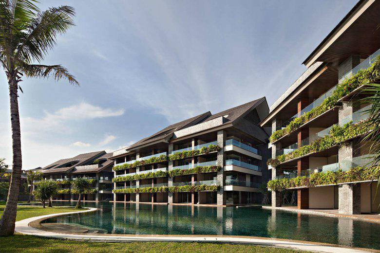 Como Uma Canggu, resort esclusivo a Bali: l'esterno dell'hotel