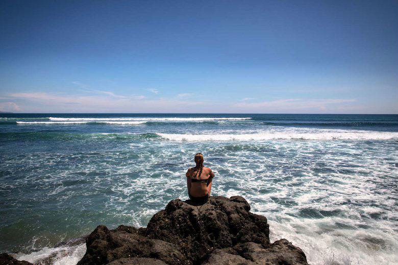 Como Uma Canggu, resort esclusivo a Bali: il mare
