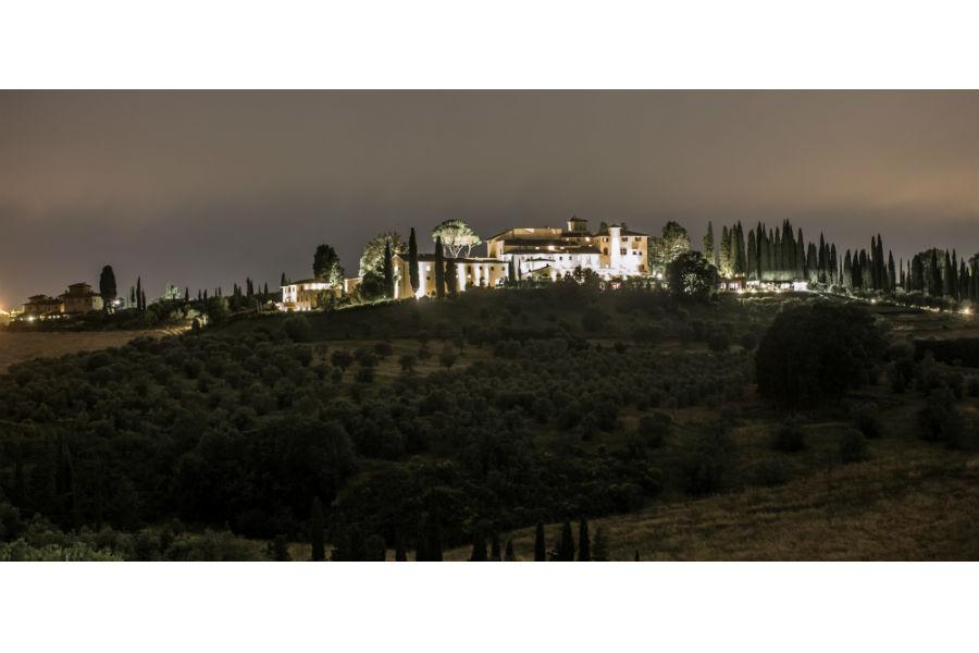 Il Castello del Nero & Spa in Tavernelle Val di Pesa presso Firenze: panoramica
