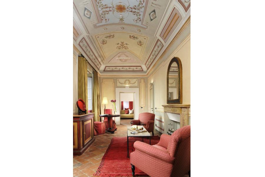 Il Castello del Nero & Spa in Tavernelle Val di Pesa presso Firenze: suite