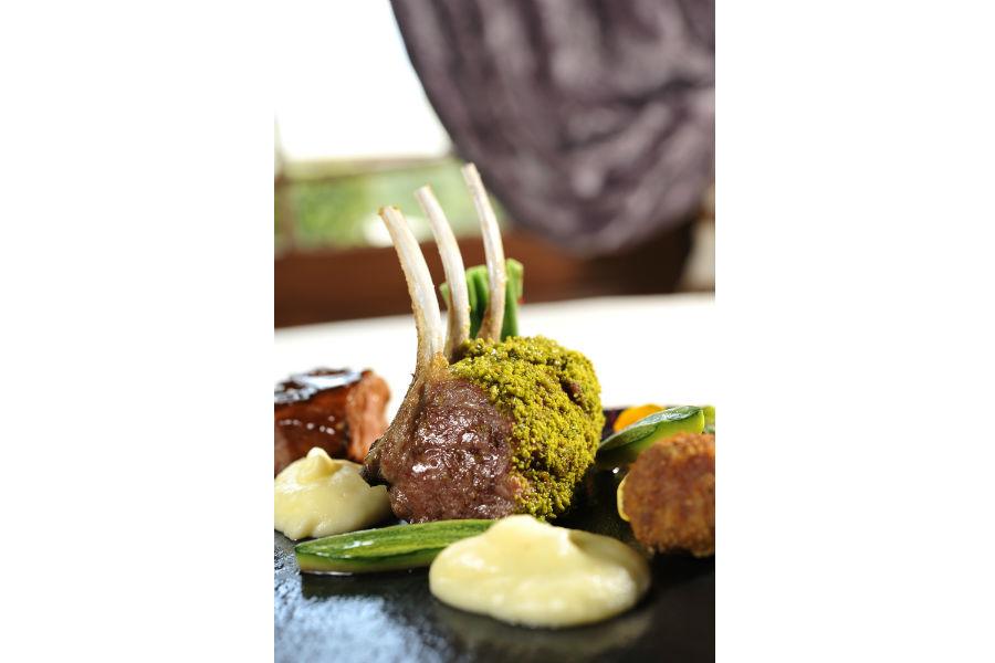Il Castello del Nero & Spa in Tavernelle Val di Pesa presso Firenze: piatto di carne del ristorante