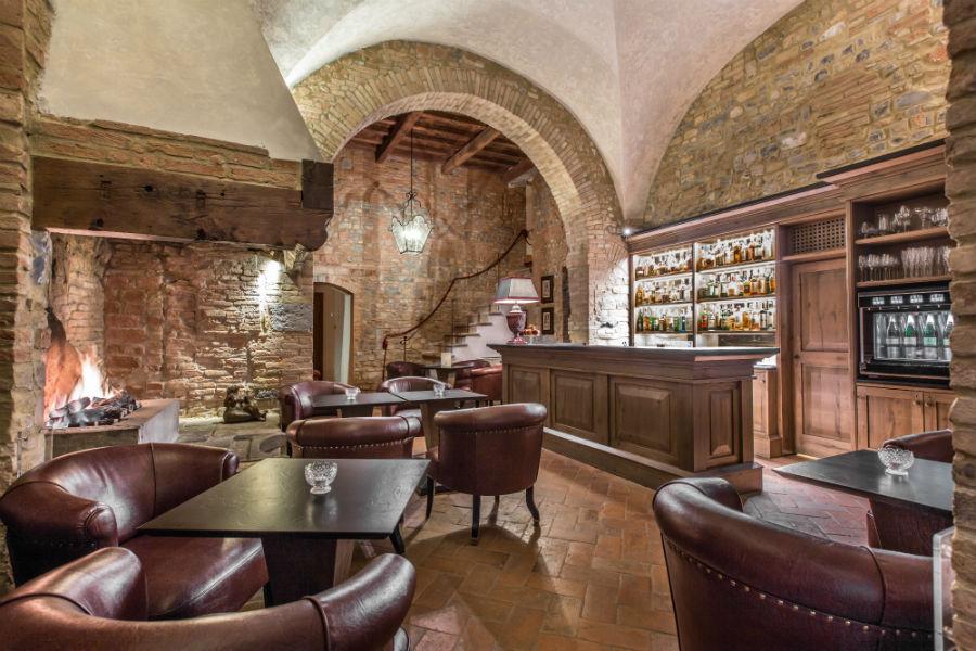 Il Castello del Nero & Spa in Tavernelle Val di Pesa presso Firenze: ristorante