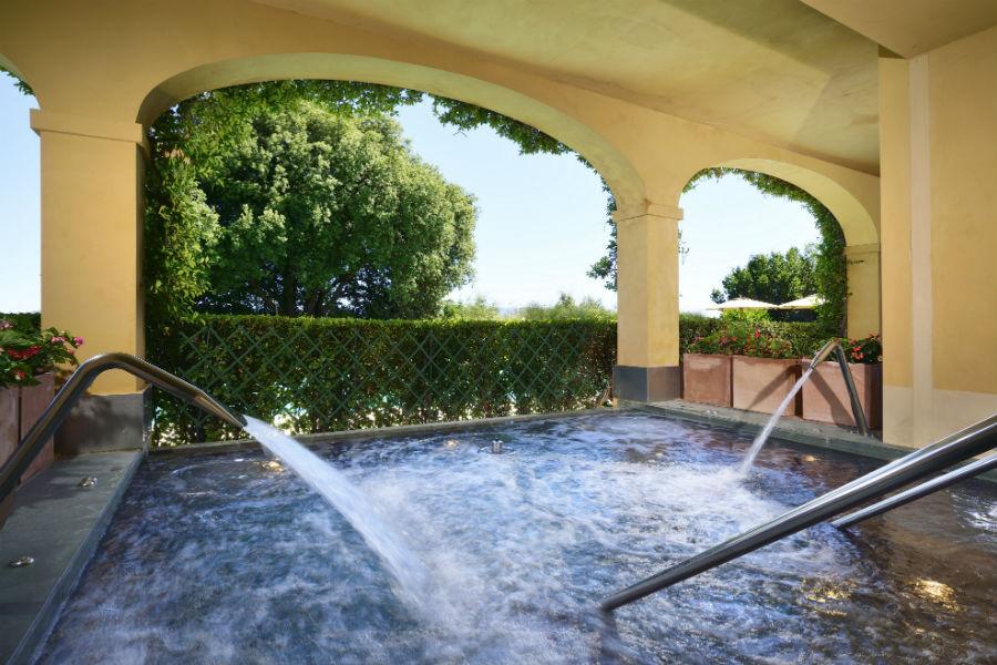 Il Castello del Nero & Spa in Tavernelle Val di Pesa presso Firenze: piscina interna