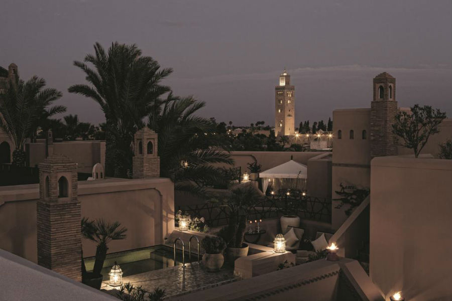 Royal Mansour – exclusive resort - Marrakech: scorcio sul giardino