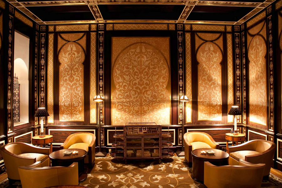 Royal Mansour – exclusive resort - Marrakech: cigar room