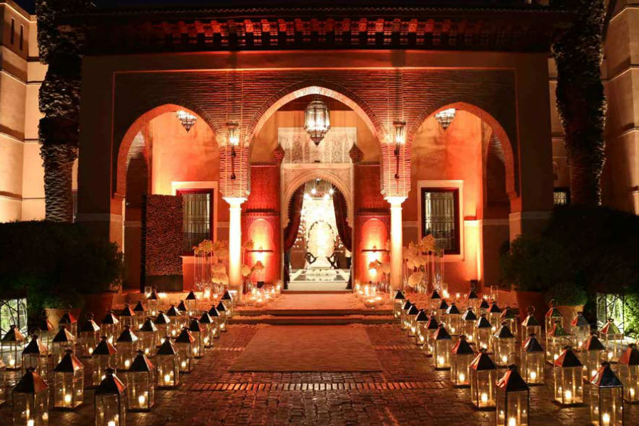 Royal Mansour – exclusive resort - Marrakech: area eventi