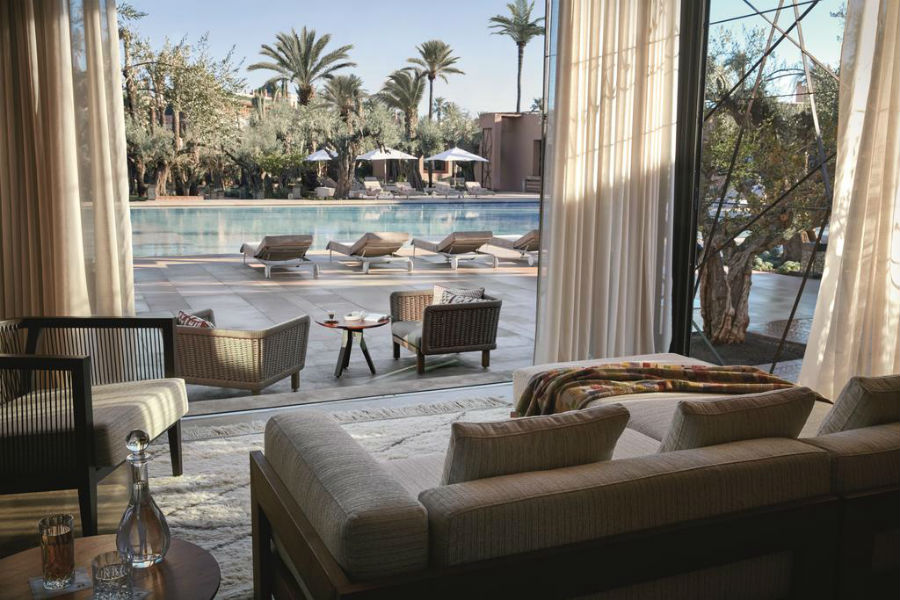 Royal Mansour – exclusive resort - Marrakech: suite