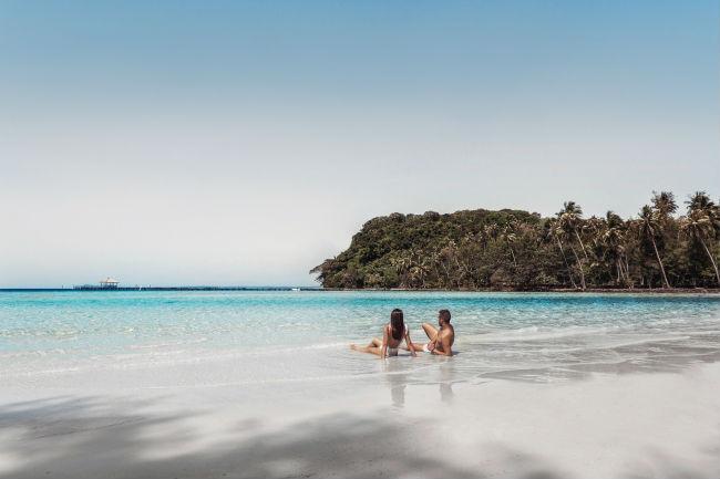 Soneva Kiri - luxury resort in Thailandia: spiaggia