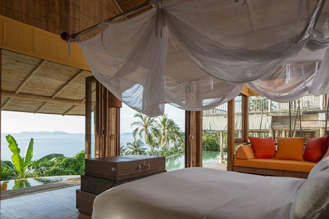 Soneva Kiri - luxury resort in Thailandia: camera da letto