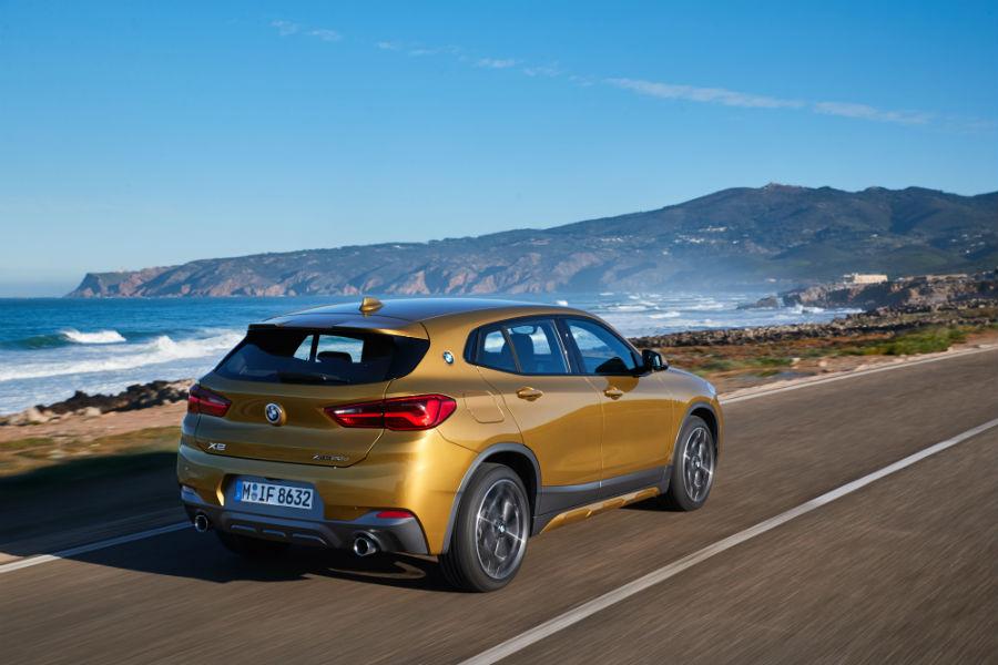 BMW X2: immagine laterale posteriore