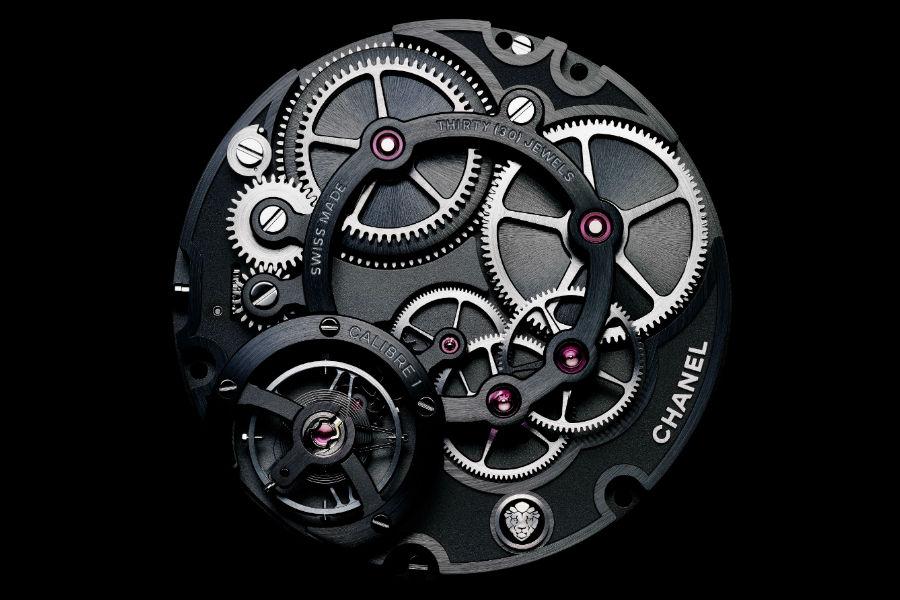 Chanel– La Manifattura Orologiera - G & F Châtelain: Manifattura Romain Gauthier - Chanel alta orologeria - Calibro 1. Ora Saltante Istantanea Minuti Retrogradi del segnatempo Monsieur di Chanel.