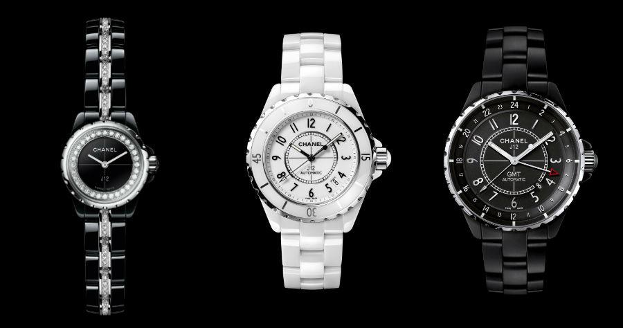 Chanel– La Manifattura Orologiera - G & F Châtelain: i modelli J12 XS, Classic e GMT Noire Mate