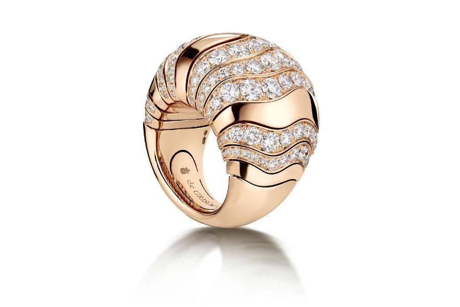 Fawaz Gruosi - de Grisogono - anello Millefoglie