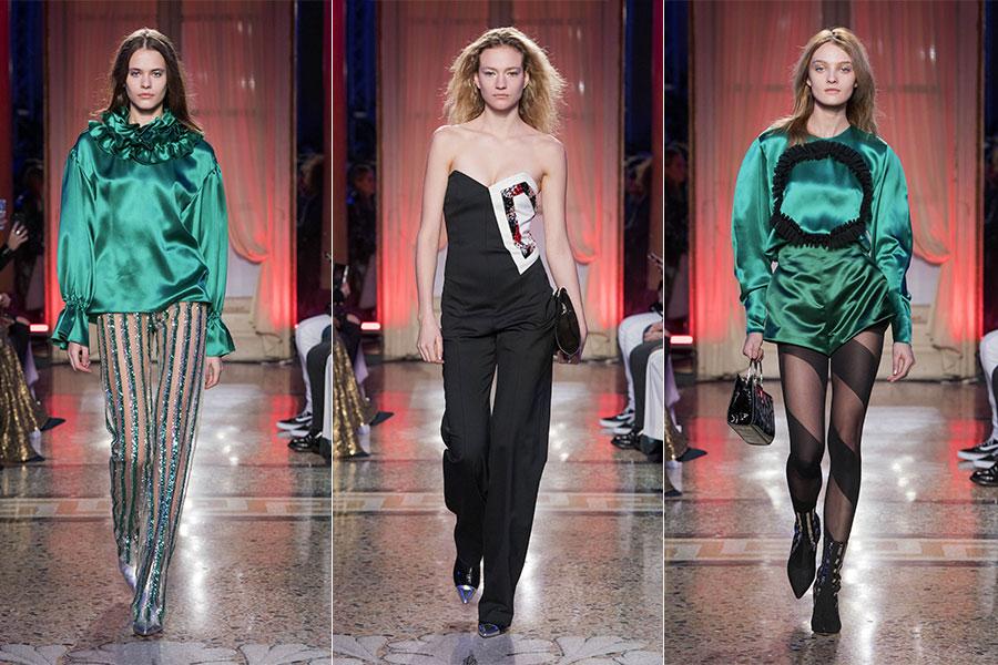Platinum, la nuova fragranza firmata Genny - The Ducker intervista Sara Cavazza Facchini: nell'immagine 3 modelli del brand
